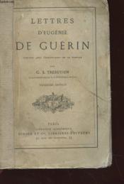 Lettres D'Eugenie De Guerin - Couverture - Format classique