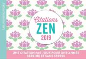 Vente  Citations zen (édition 2019)  - Collectif