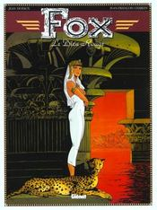 Fox t.4 ; le dieu rouge - Intérieur - Format classique
