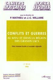 Cahiers Africains N.39-40 ; Conflits Et Guerres Au Kivu Et Dans La Region Des Grands Lacs - Intérieur - Format classique