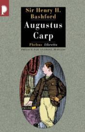 Augustus carp - Couverture - Format classique