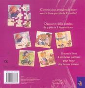J'Assemble Des Puzzles Avec Camille - 4ème de couverture - Format classique