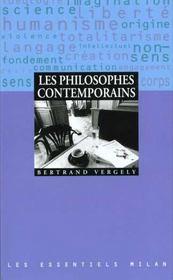 Les philosophes contemporains - Intérieur - Format classique