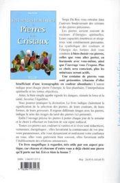 Energies Benefiques Des Pierres Et Cristaux - 4ème de couverture - Format classique