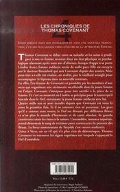 Les chroniques de Thomas Covenant t.4 ; le rituel du sang - 4ème de couverture - Format classique