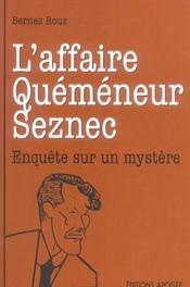 L'Affaire Quemeneur-Seznec - Intérieur - Format classique
