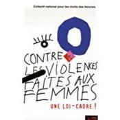 Contre les violences faites aux femmes : une loi-cadre - Couverture - Format classique