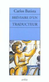 Breviaire D'Un Traducteur - Couverture - Format classique