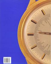 Les Montres - 4ème de couverture - Format classique