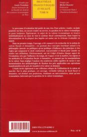 La valeur en droit fiscal et douanier - 4ème de couverture - Format classique