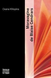 Moravagine de Blaise Cendrars - Couverture - Format classique