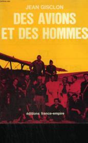 Des Avions Et Des Hommes. - Couverture - Format classique