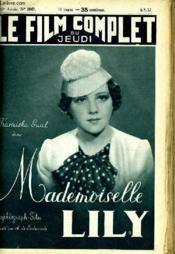Le Film Complet Du Jeudi N° 1947 - 16e Annee - Mademoiselle Lily - Couverture - Format classique