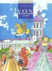 L'histoire de lyon en bd - tome 02 - Intérieur - Format classique
