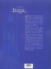 L'Histoire De Lyon En Bd - Tome 02 - 4ème de couverture - Format classique