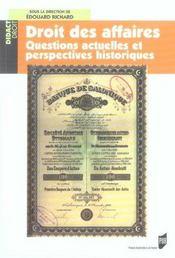 Droit Des Affaires - Intérieur - Format classique