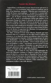 L'Revue L'Inactuel 08 - Avenir Des Illusions - 4ème de couverture - Format classique