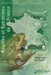 Reptiles et batraciens de france - Couverture - Format classique