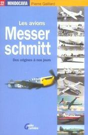 Les Avions Messerschmit - Intérieur - Format classique
