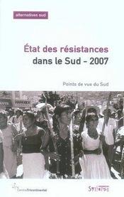 État des résistances dans le sud (édition 2007) - Intérieur - Format classique