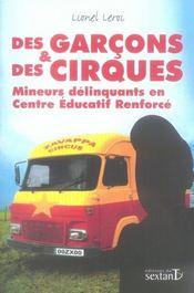 Des garçons et des cirques ; des mineurs délinquants en centre d'éducation renforcée - Intérieur - Format classique