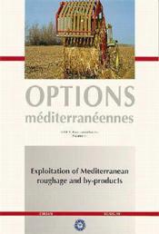 Exploitation of mediterranean roughage and - Couverture - Format classique