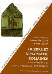 Guerre et diplomatie romaine IV-III siècles av. J.-C. - Couverture - Format classique