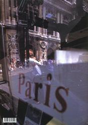 Paris + Klein - 4ème de couverture - Format classique