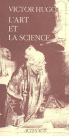 L'art et la science - Couverture - Format classique