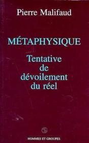 Metaphysique - Couverture - Format classique