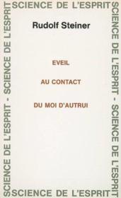 Eveil Au Contact Du Moi D'Autrui - Couverture - Format classique