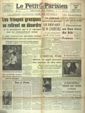 Petit Parisien Edition De Paris (Le) du 22/04/1941 - Couverture - Format classique