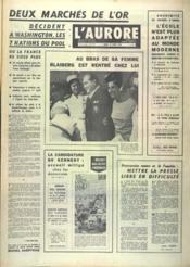 Aurore (L') N°7324 du 18/03/1968 - Couverture - Format classique