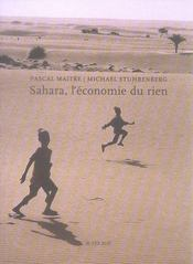 Sahara, l'économie du rien - Intérieur - Format classique