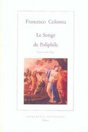 Le songe de Poliphile - Intérieur - Format classique
