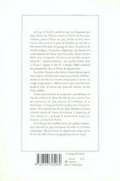 Le songe de Poliphile - 4ème de couverture - Format classique