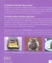 Chocolat ! - 4ème de couverture - Format classique