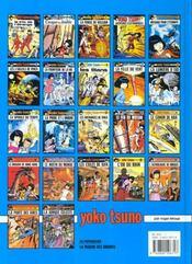 Yoko Tsuno t.6 ; les trois soleils de Vinéa - 4ème de couverture - Format classique