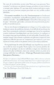Lettre Ouverte Aux Citoyens De La Terre - 4ème de couverture - Format classique