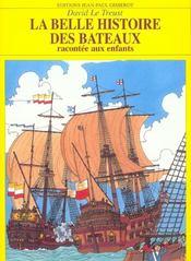 La Belle Histoire Des Bateaux - Intérieur - Format classique