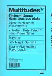 Revue Multitudes 17 - Intérieur - Format classique