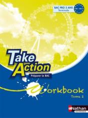 Vente livre :  Take action bac pro workbook  - Collectif