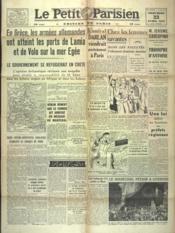 Petit Parisien Edition De Paris (Le) du 23/04/1941 - Couverture - Format classique