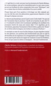 Travaux pratiques de clinique analytique - 4ème de couverture - Format classique