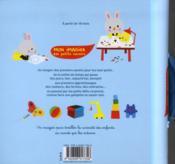 Mon imagier des petits savoirs - 4ème de couverture - Format classique