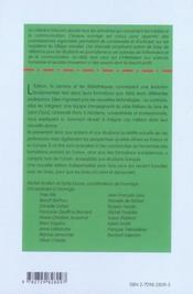 Les professions du livre ; édition, librairie, bibliothèque (2e édition) - 4ème de couverture - Format classique