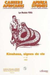 Kinshasa Signes De Vie - Couverture - Format classique