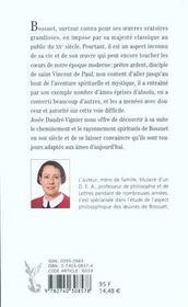 Bossuet maitre spirituel - 4ème de couverture - Format classique
