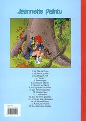 Jeannette Pointu T.16 ; Les Hommes Feuilles - 4ème de couverture - Format classique