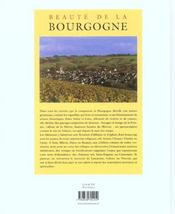 Beauté de la bourgogne - 4ème de couverture - Format classique
